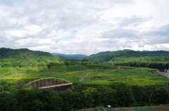 登山道への橋