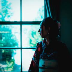 窓辺の麗人