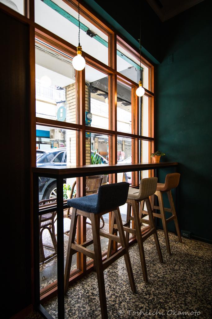 台北市迪化街 コーヒーショップ