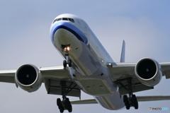 新千歳空港 科学技術大学前より KOREAN AIR