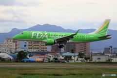 今日の丘珠空港 FDA8号機 その2