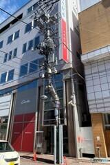 撮りたかった街角風景 In 旭川 S型組立鋼管柱 その6