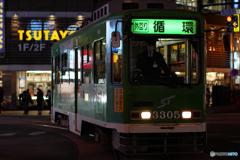 札幌四番街 市電