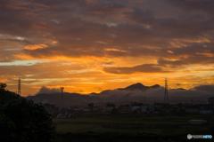 朝の空<2>