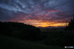 朝の空<3>