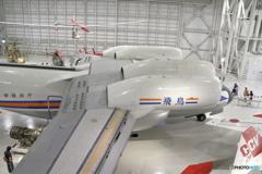 航技研 低騒音STOL実験機 飛鳥(上部から)