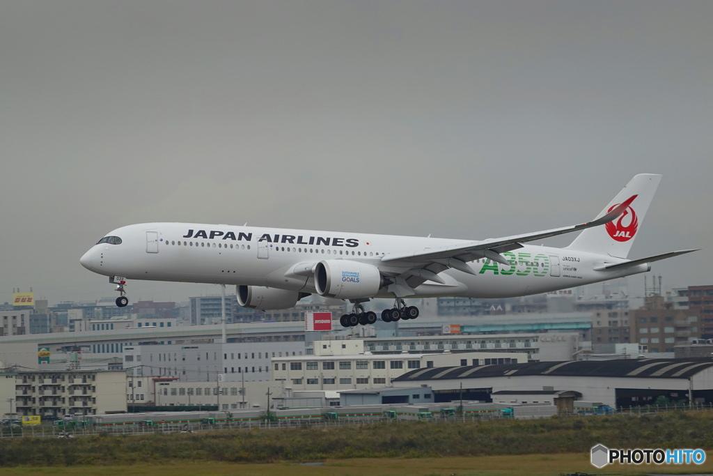 JAL A350-900 JA03XJ
