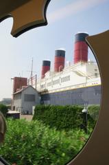 【ディズニー】電車から船