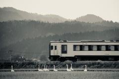 沿線の旅人たち