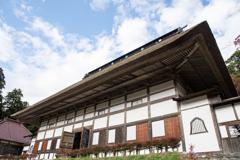 日本最大の茅葺き屋根