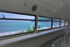 海の見えるカウンター