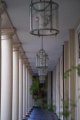 中庭の回廊