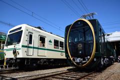 叡山電車「ひえい」試乗会4