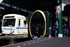 叡山電車「ひえい」試乗会8