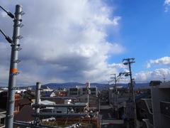 生駒山脈 遠景