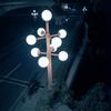 洒落た街灯