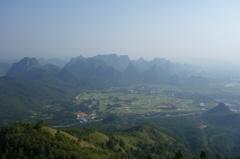 雨の桂林の晴れ。