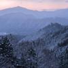 藤和峠冬景色