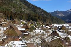 冬の美山郷