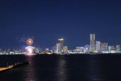 Minatomirai Fireworks