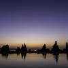 「夜明け前の群青」