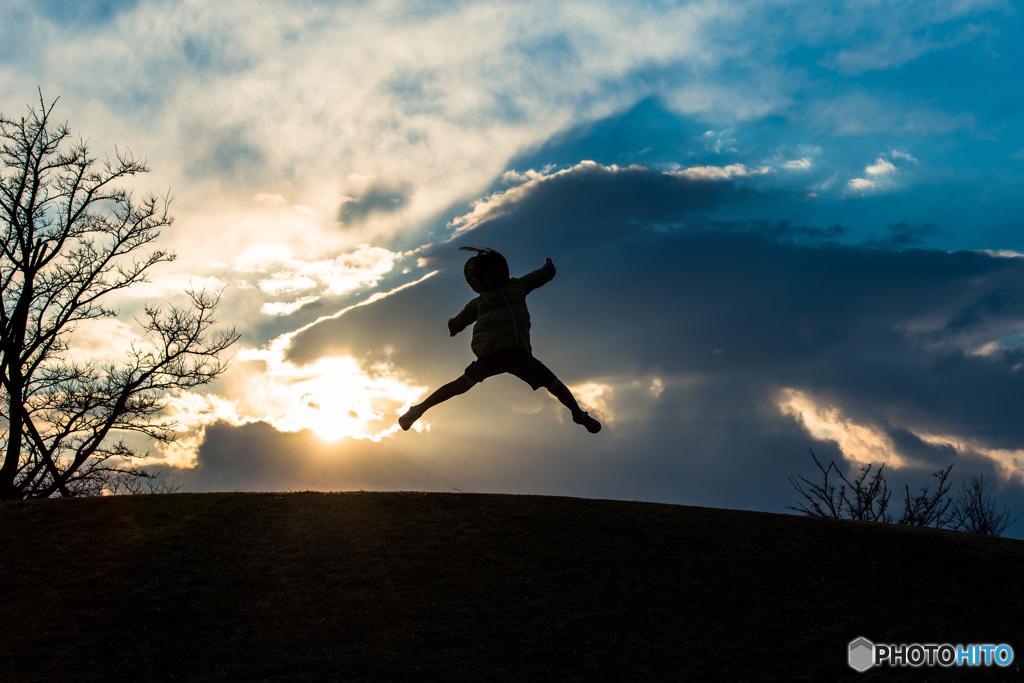 「冬空ジャンプ」
