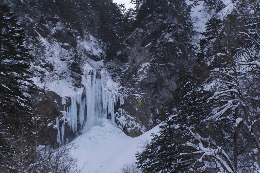 凍結平湯大滝