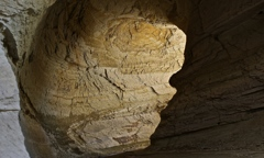 Secret kiss in the cave