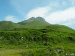 二百名山 由布岳