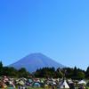 富士の麓で