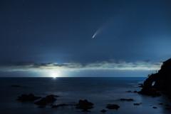 鳥取でやっと見えたネオワイズ彗星*2