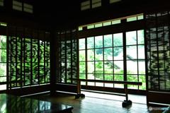 日本家屋の涼