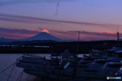 富士の精霊かな。。