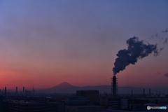 京浜工業と富士山
