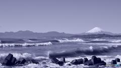 初夢の湘南海岸