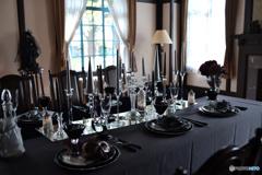 仮面舞踏会のテーブル