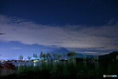 パンパスグラスと地震雲