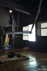囲炉裏の吊り棚