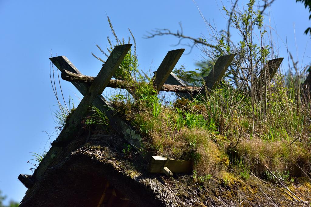 藁ぶき屋根