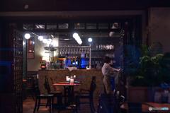 古風なカフェバー