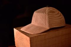 木に魅せられ~帽子の木地完了