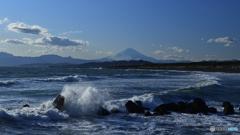 白波は富士への道標