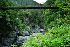 鳩ノ巣吊り橋