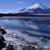 山中湖初凍結