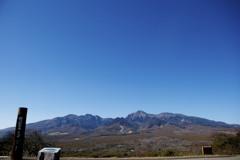 八ヶ岳連峰 Yatsugatake mountain range, JAPAN