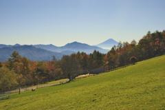 初秋の八ヶ岳 Mt. Yatsugatake in early autumn