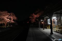 会津鉄道芦ノ牧温泉駅
