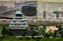 大阪城とJR