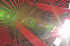 明尾寺の朝陽