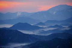 雲海の夕べ